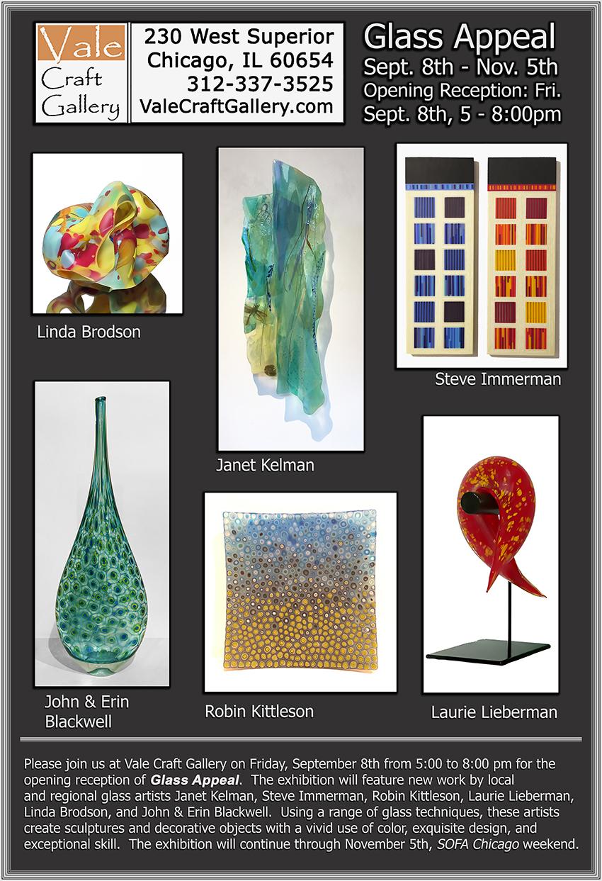 Vale Craft Gallery Chicago - Vale Craft Gallery : 230 W. Superior, Chicago, (312) 337-3525